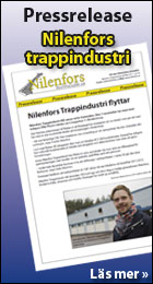 Pressrelease Nilenfors Trappindustri
