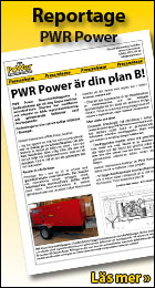 Pressrelease från PWR Power